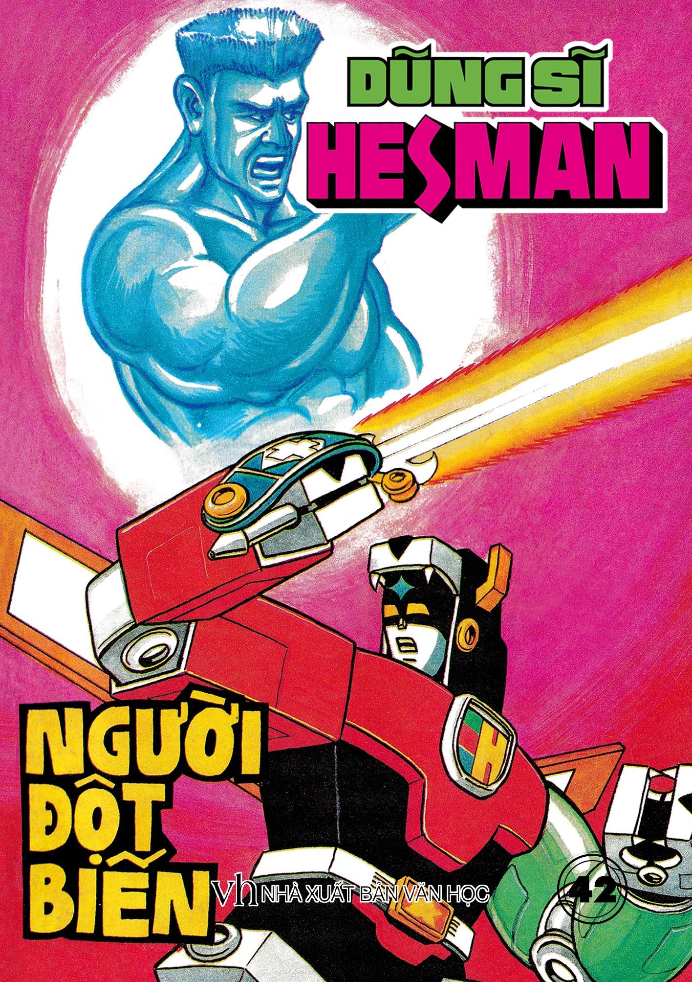 Boxset 9 : 5 tập Dũng Sĩ HesMan ( Từ tập 41 đến tập 45 )