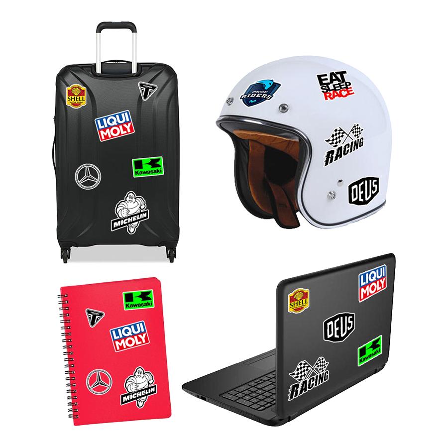 Set 100 Sticker - Logo Racing