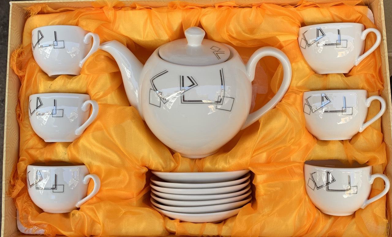Bộ bình pha trà truyền thống sứ cáo cấp - ANTH596
