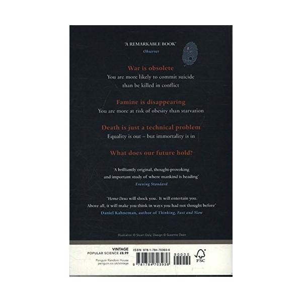 Homo Deus: A Brief History Of Tomorrow (Khổ nhỏ)