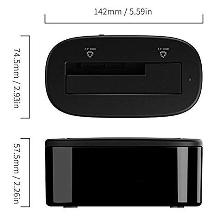 Dock gắn ổ cứng SATA USB 3.0 6218US3