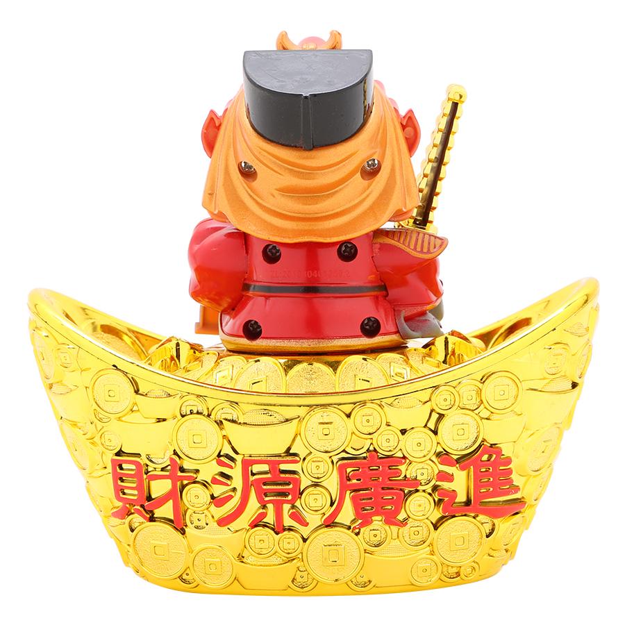 Thần Tài Ngồi Thỏi Vàng Năng Lượng Mặt Trời M Đan Như