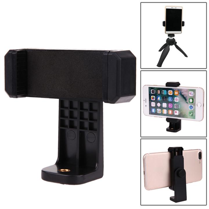Đế kẹp điện thoại xoay 360 độ gắn chân máy ảnh livestream