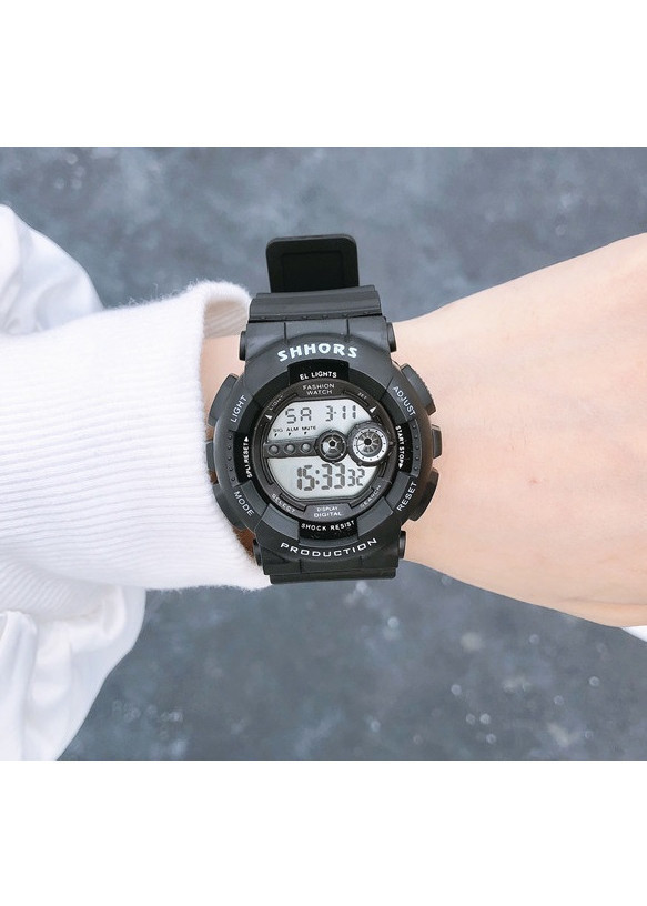 Đồng hồ nam nữ thể thao dây nhựa cao cấp Shhors