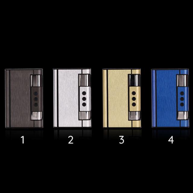 Hộp Qụet Bật Lửa Khò Kiêm Hộp Đựng Thuốc HY-007 Thiết Kế Đẹp Độc Lạ - Dùng Gas ( giao màu ngẫu nhiên )