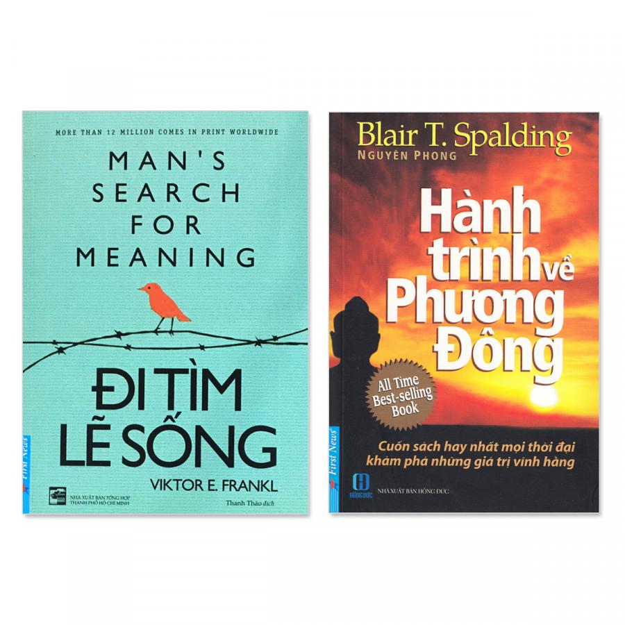 Combo 2 cuốn: Đi tìm lẽ sống, Hành Trình Về Phương Đông