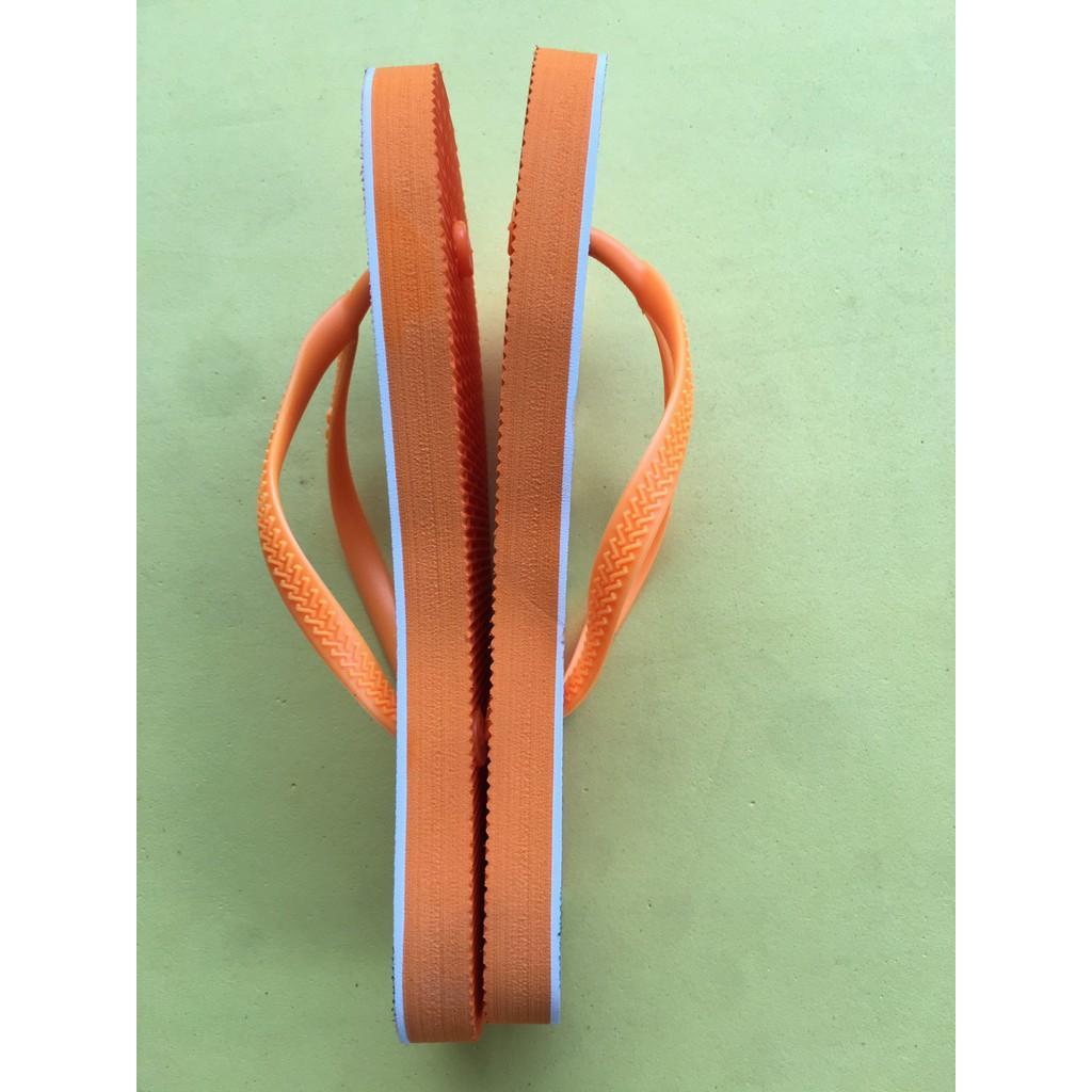 Dép tông Nữ , Dép sỏ ngón kiểu dáng thời trang DN03 Màu Cam