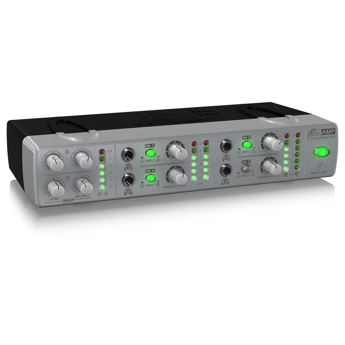 Bộ khuếch đại tai nghe Behringer AMP800 - Hàng chính hãng
