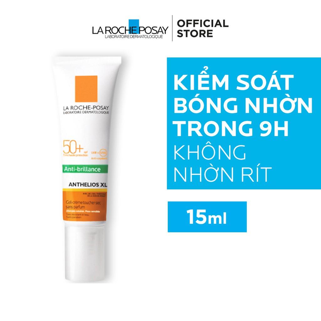 (15ml) Kem Chống Nắng Không Màu Kiểm Soát Dầu La Roche-Posay Anthelios XL Dry Touch Gel-Cream SPF 50+ UVB & UVA