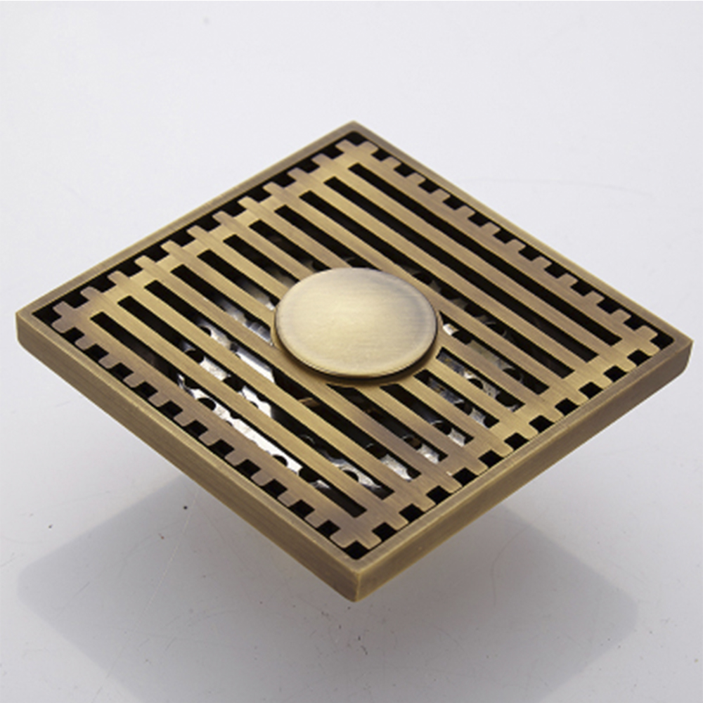 Thoát sàn khử mùi GD411-lọc ô nhiễm bằng đồng cao cấp