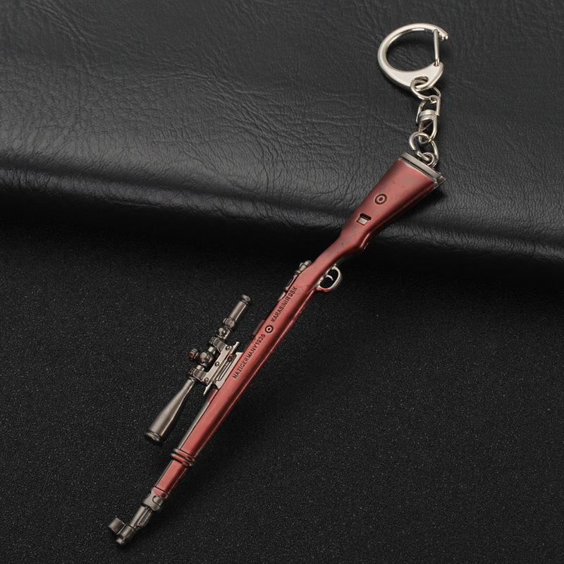 Móc khóa vật phẩm đồ chơi mô hình game PUBG Kar98