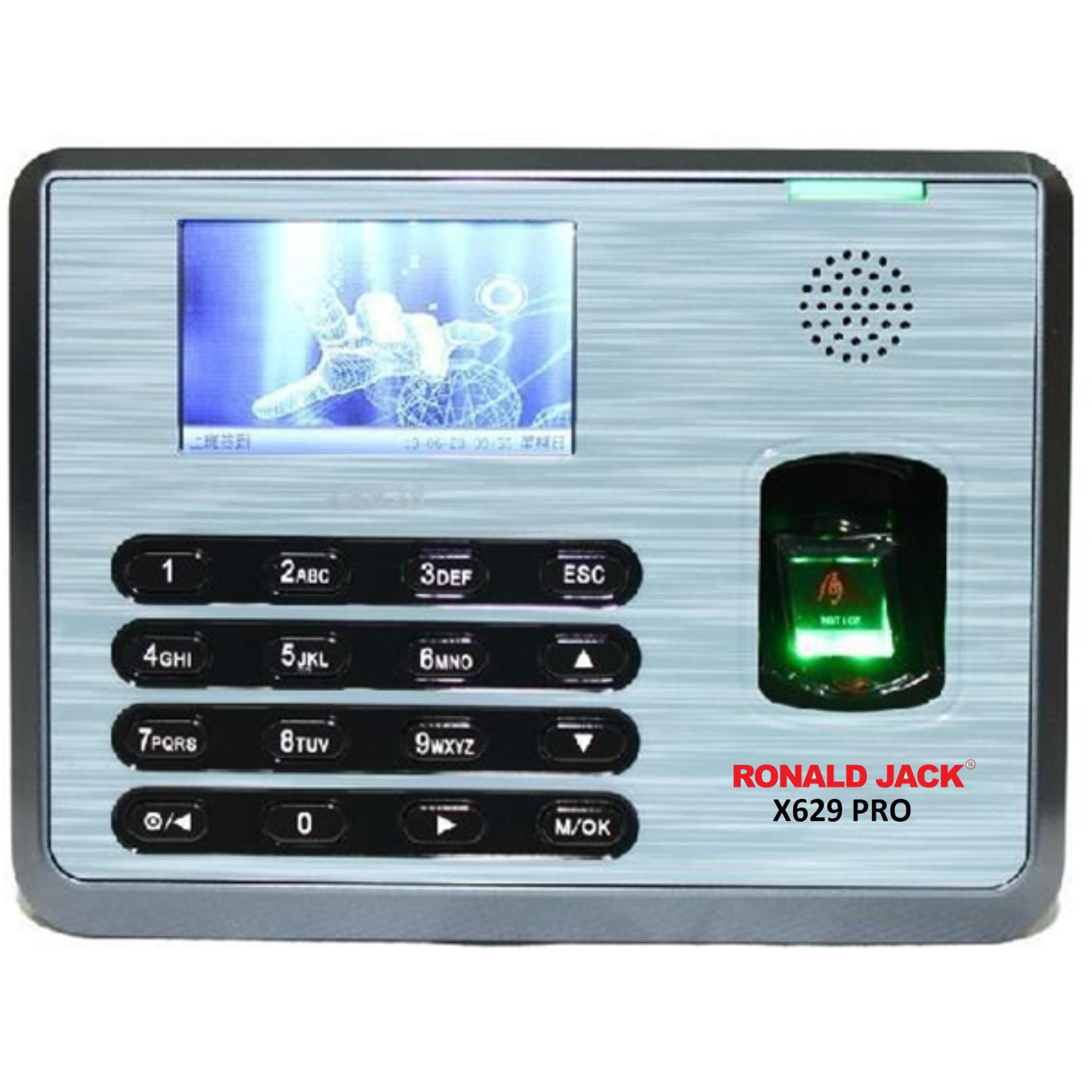 Máy chấm công vân tay và thẻ Ronald Jack X629 Pro nhập khẩu