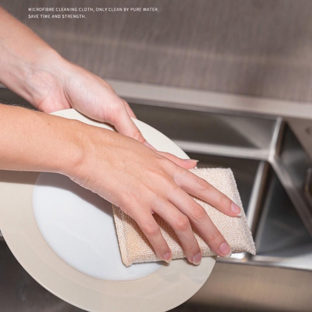 Bộ 3 miếng rửa chén bát cao cấp