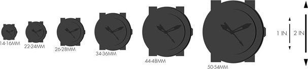 Đồng Hồ Citizen Nữ Dây Da Pin-Quartz EJ6122-08A - Mặt Trắng (22x17.5mm)