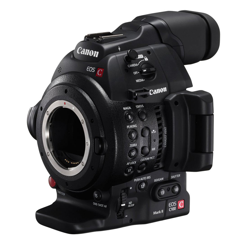 Máy Quay Canon EOS C100 MK II - Hàng Chính Hãng