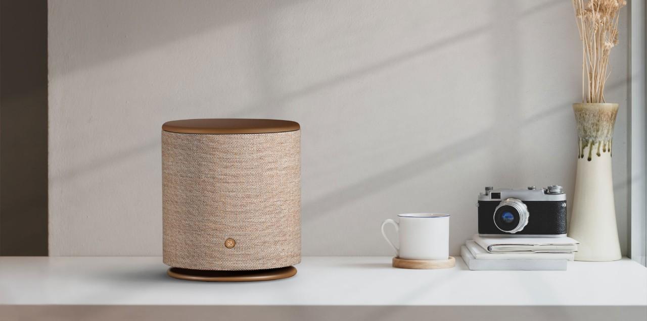 Loa Di Động Bluetooth Beoplay M5 Bronze Tone - Hàng nhập khẩu - Loa Bluetooth Thương hiệu Bang & Olufsen | DiDongVietNam.com
