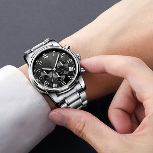 Đồng hồ đeo tay nam lịch lãm sang trọng và bền bỉ DH18