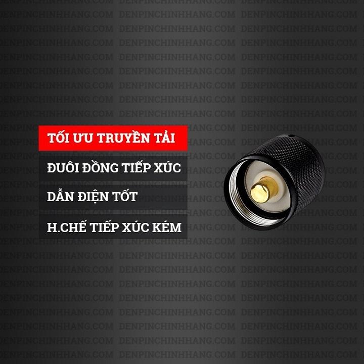 ĐÈN PIN SIÊU SÁNG ULTRA FIRE XML T6 NHẬT BẢN
