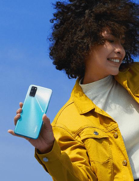 Điện thoại OPPO A92   Thiết kế mặt lưng với họa tiếc độc đáo