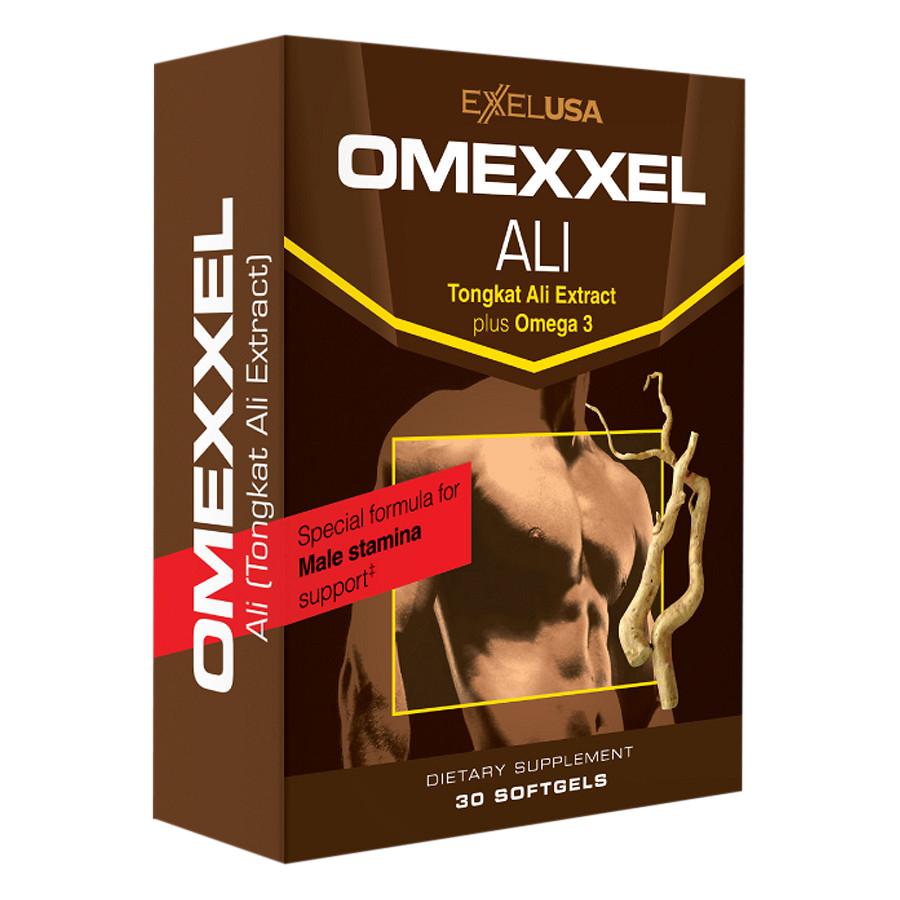 Combo 2 Hộp Thực Phẩm Chức Năng Tăng Cường Sinh Lý Nam Giới Omexxel Ali (30 Viên / Hộp)
