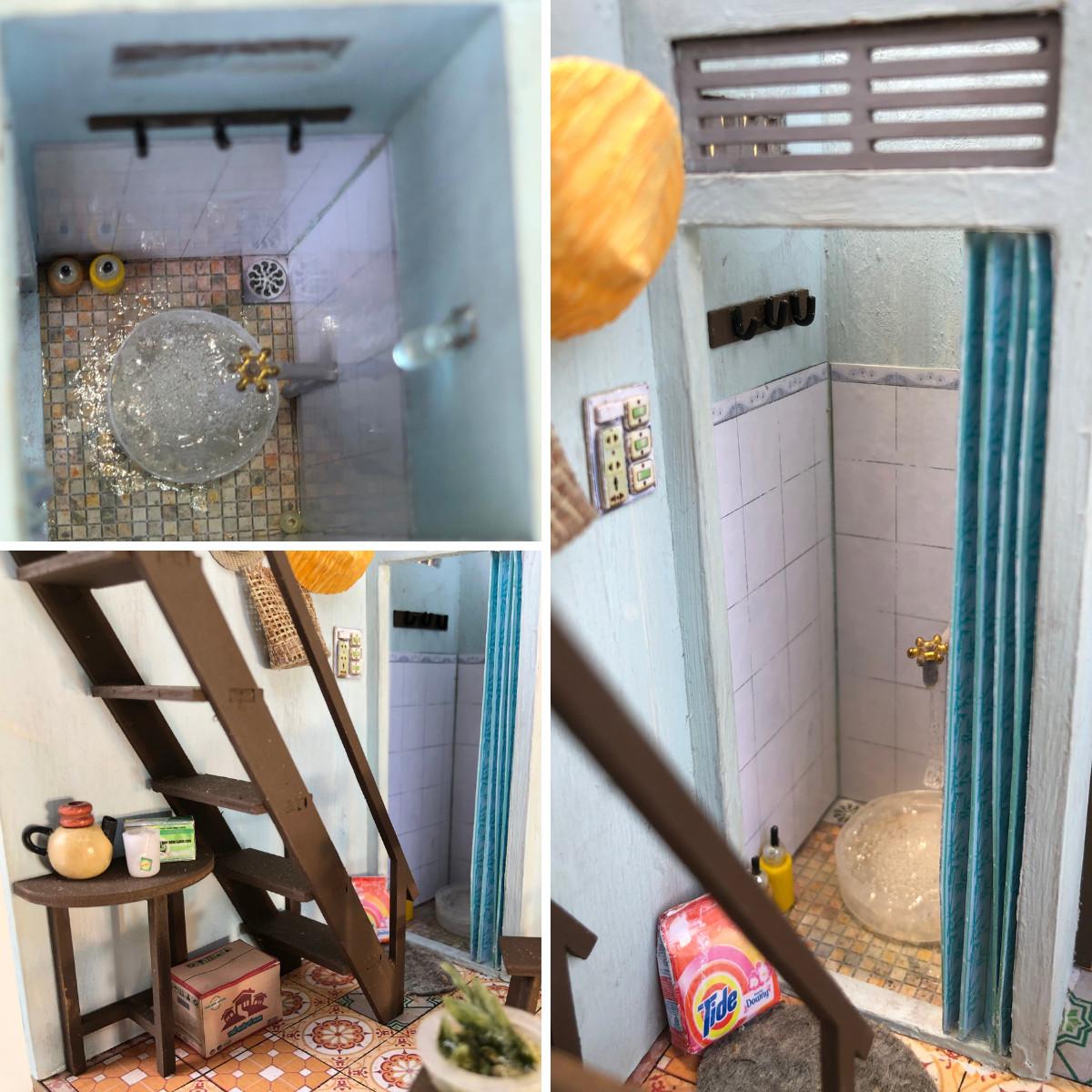 Mô Hình Thu Nhỏ Góc Bếp Ở Sài Gòn Xưa Bằng Gỗ - Bếp Của Mẹ - Mã SP: TX02