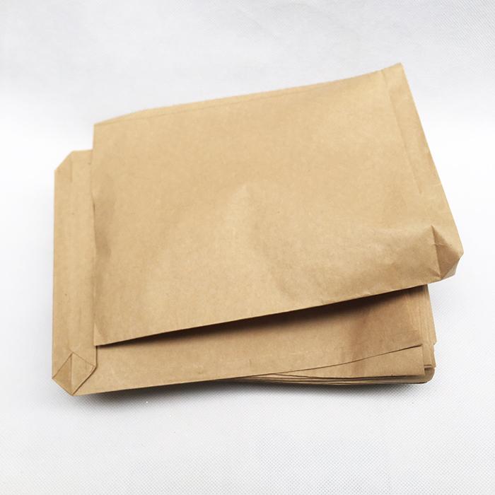 100 Túi giấy kraft ngang 20cm cao 25cm đáy 4cm