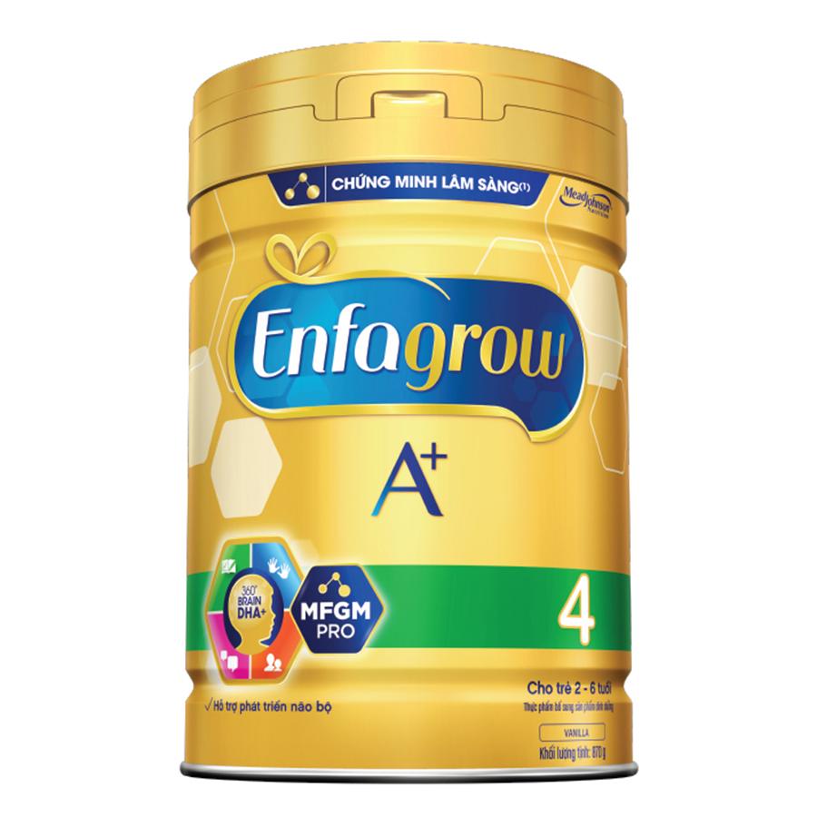 Hình ảnh Sữa Bột Enfagrow A+ 4 (870g)