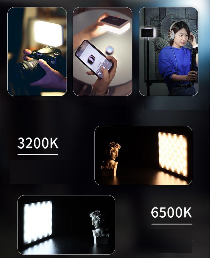 Đèn led video Ulanzi VIJIM VL120 RGB hàng chính hãng