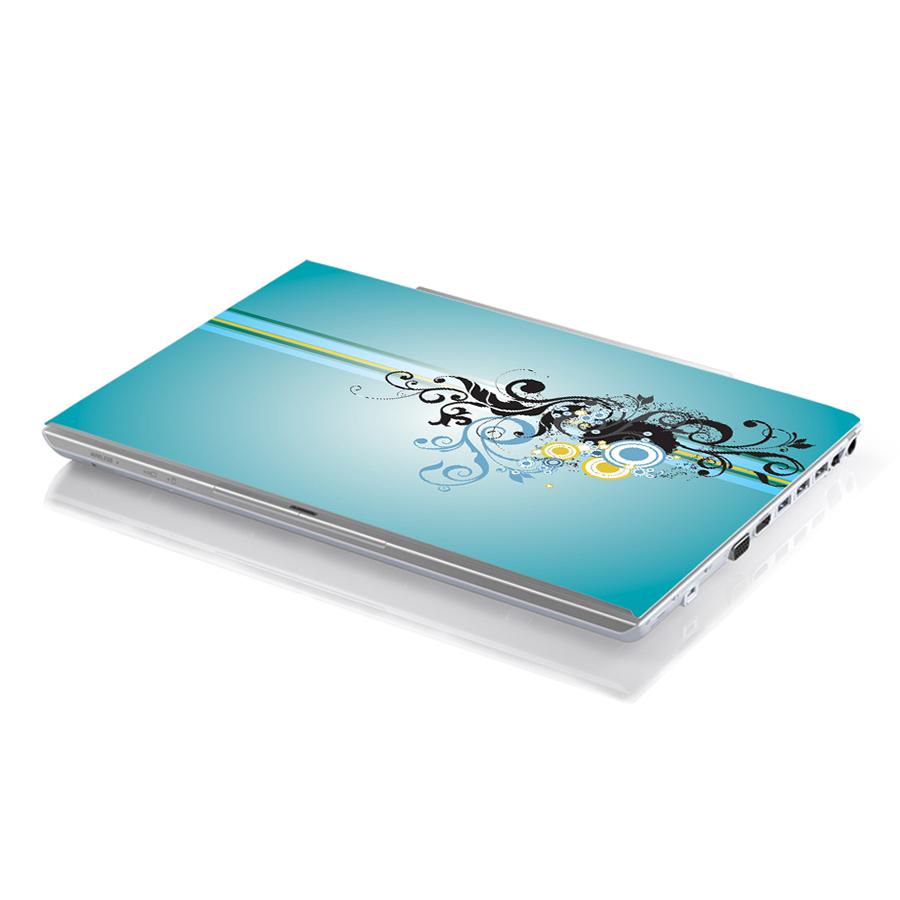 Miếng Dán Decal Dành Cho Laptop Mẫu Hoa Văn LTHV-37