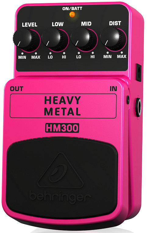 Guitar Stompboxes Behringer HM300 -Heavy Metal Distortion Effects Pedal-Hàng Chính Hãng