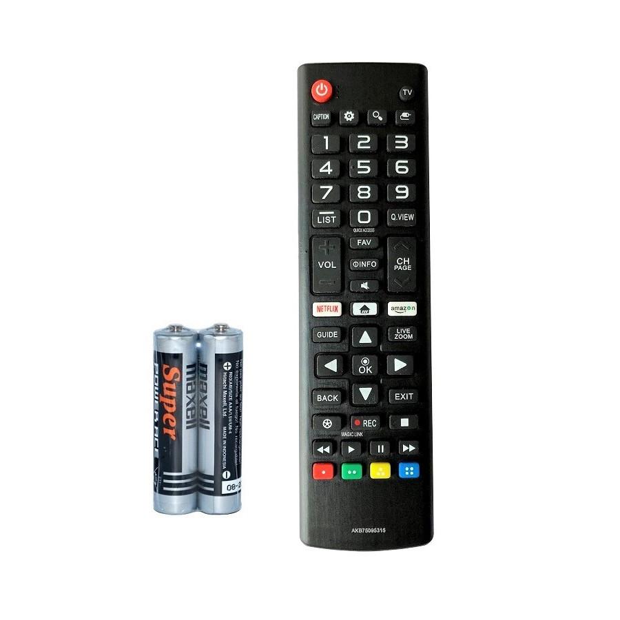 Remote Điều Khiển Dành Cho Smart TV LG, Internet Tivi, Ti Vi Thông Minh LG AKB75095315
