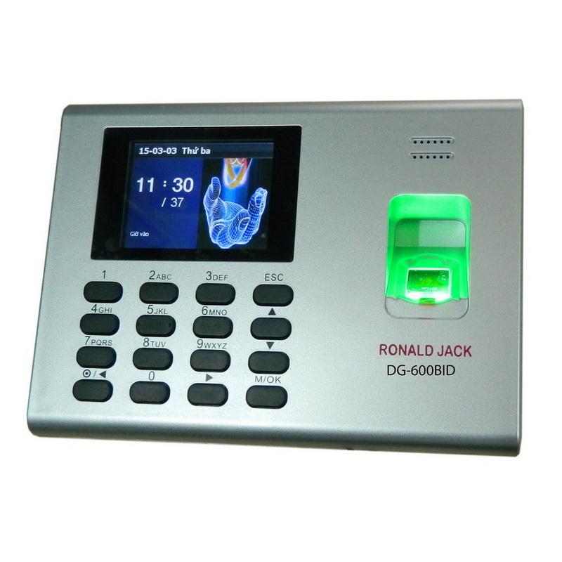 Máy chấm công vân tay Ronald Jack DG600BID - Hàng chính hãng