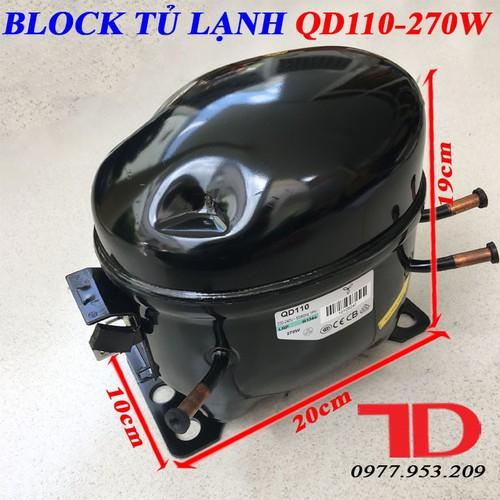 Block tủ lạnh QD110 270W từ 650L đến 800L