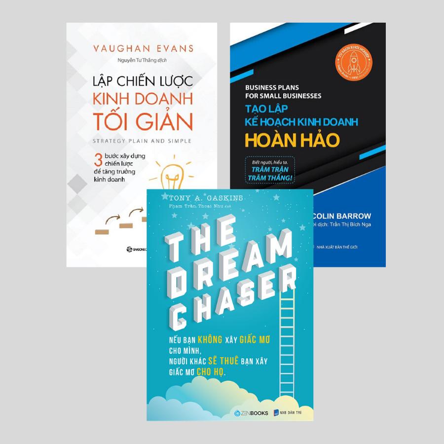 Combo: The Dream Chaser + Lập Chiến Lược Kinh Doanh Tối Giản + Tạo Lập Kế Hoạch Kinh Doanh Hoàn Hảo