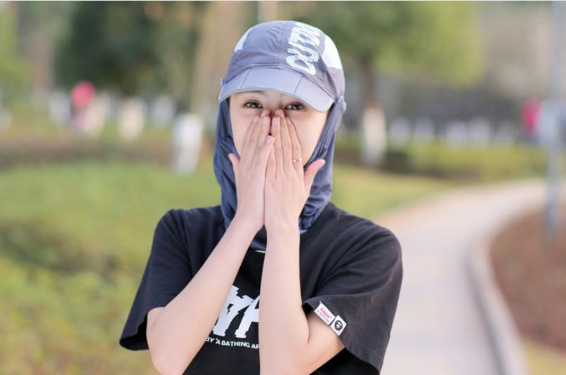 Mũ nón khẩu trang chống nắng  chống uv đa năng mới