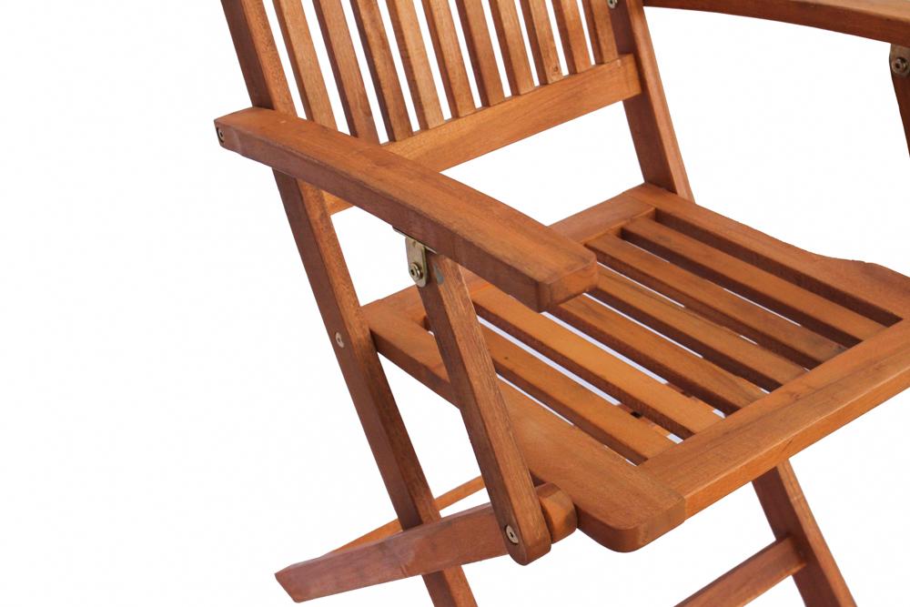 Ghế gỗ cao tay Vịn Ngoài trời