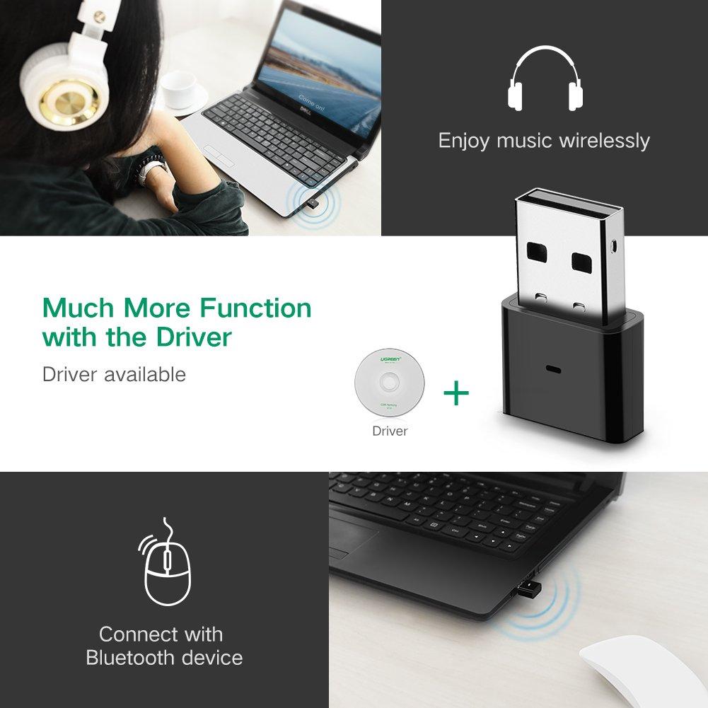 USB Thu Bluetooth 4.0 Cao Cấp Ugreen 30524 - Hàng Chính Hãng