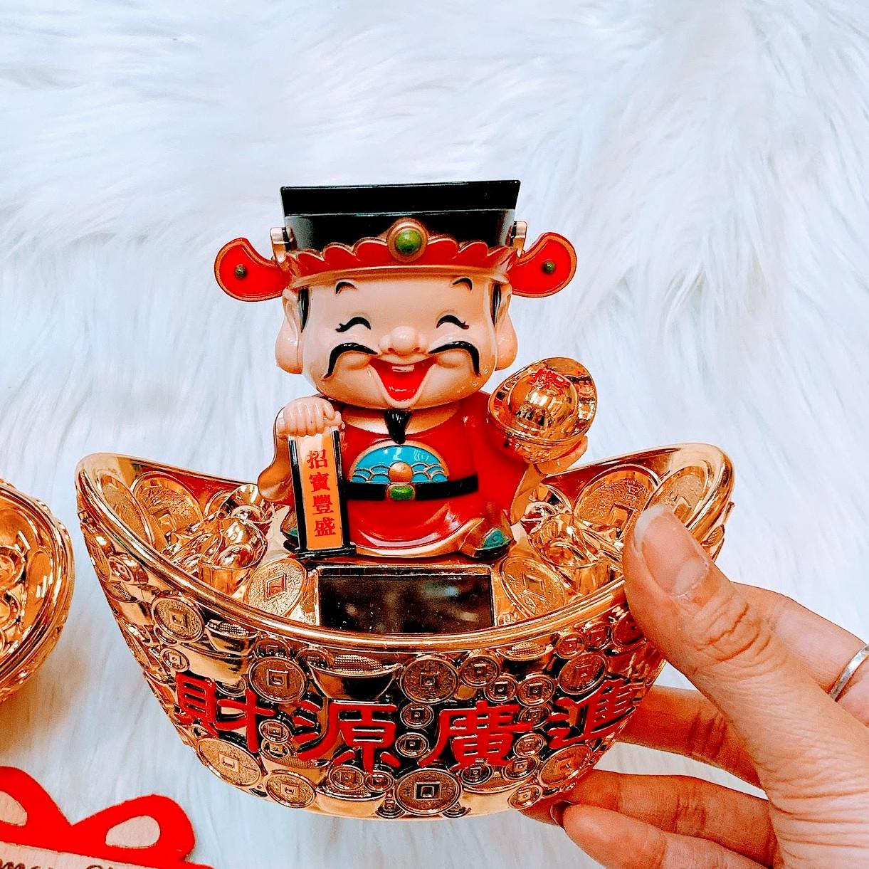 Thần Tài Ngồi Thỏi Vàng - 1 Sản Phẩm