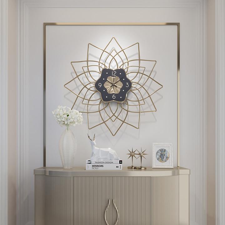 Đồng hồ treo tường nghệ thuật trang trí phòng khách