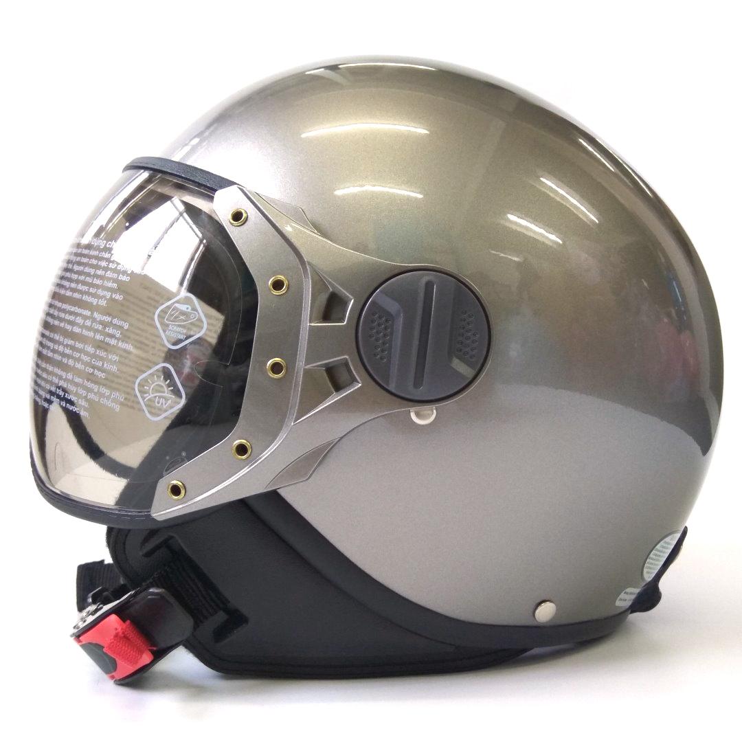Mũ bảo hiểm 3/4 SUNDA 103D - phù hợp với người vòng đầu hơi nhỏ