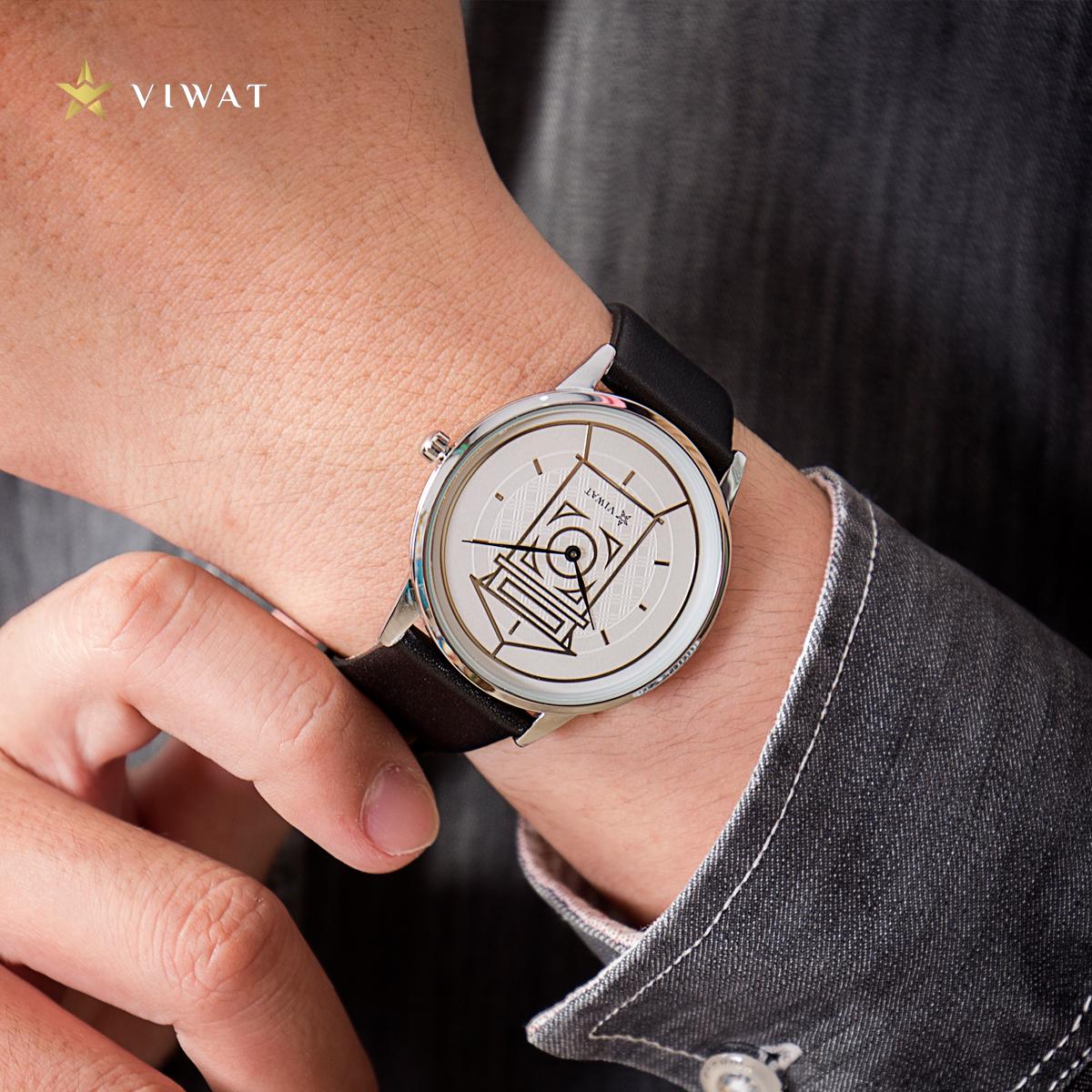 Đồng hồ nam dây Nato Viwat Sài Gòn VW-132S ( 38mm) Xanh lá xanh dương