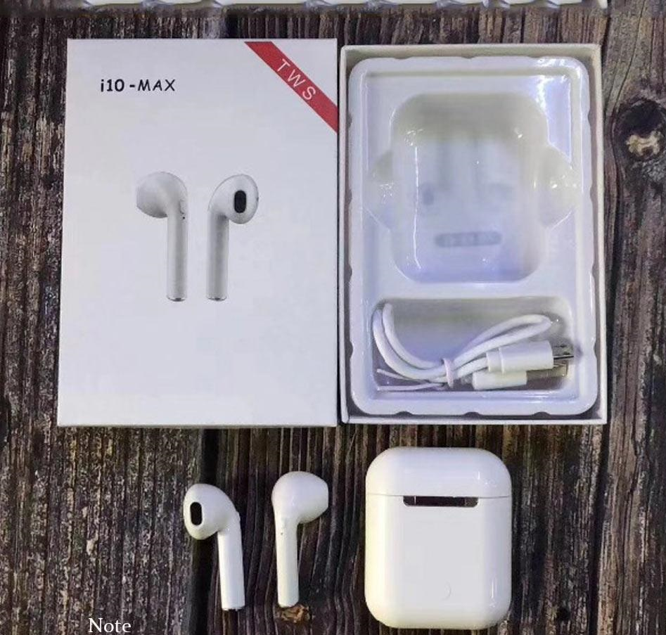 Tai Nghe Bluetooth I10 Max Tặng Đế Sạc và Sạc Dự Phòng Chính Hãng