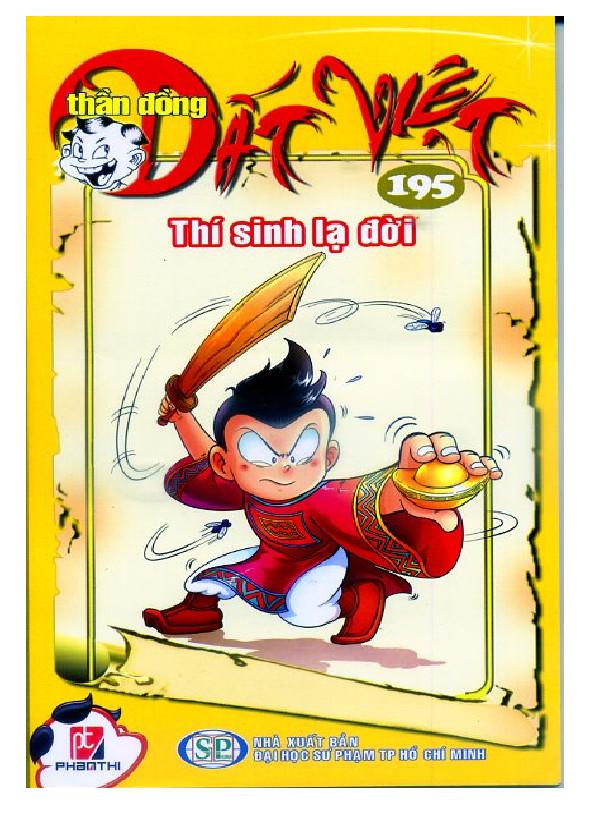 Bộ Truyện Tranh Thần Đồng Đất Việt (Tập 195 - 199)
