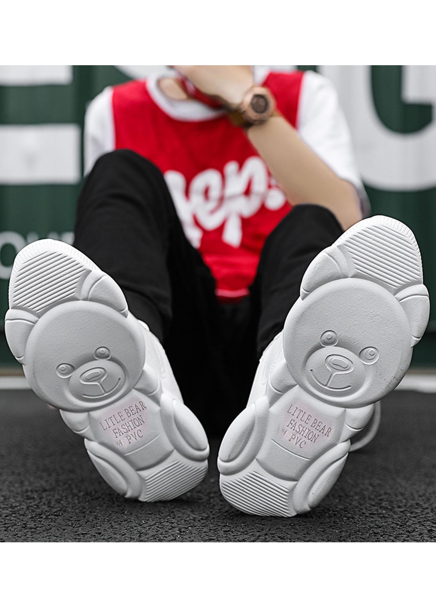 Giày thể thao giày chạy bộ nam Pettino đế hình gấu siêu cute NS09
