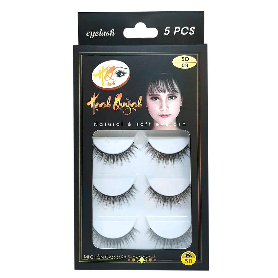 5 cặp lông mi giả tự nhiên Natural & Soft Eyelash (số 09)