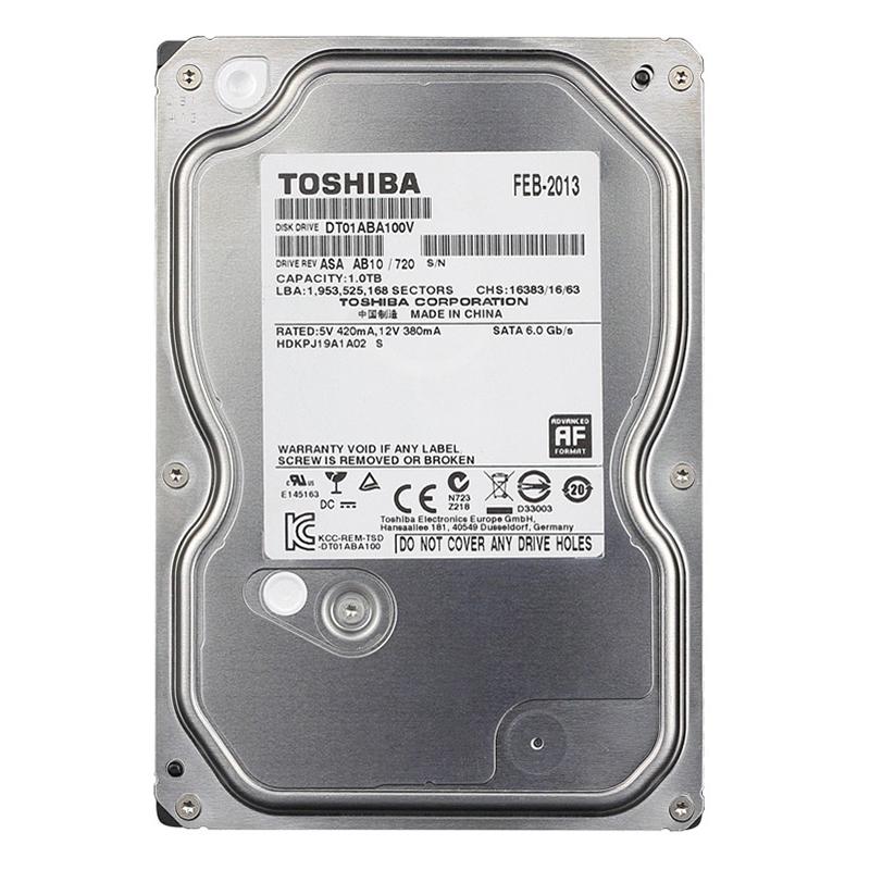 Ổ Cứng HDD Toshiba 1TB 5700RPM - Hàng Chính Hãng