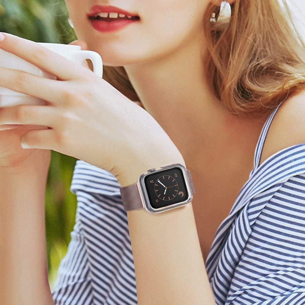 Bộ 2 Case Ốp Dẻo Silicon Dành Cho Apple Watch 42mm Series 3 2 1