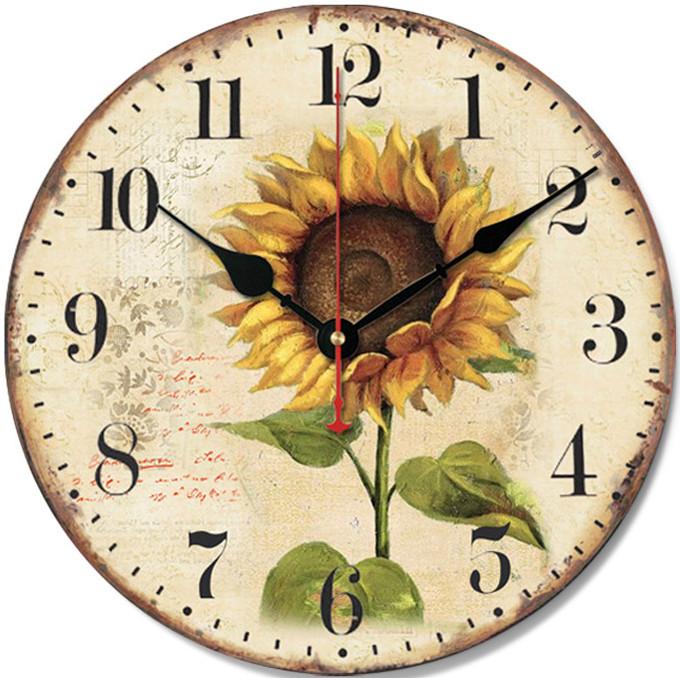 Đồng hồ treo tường Vintage Phong cách Châu Âu size 12cm DH56