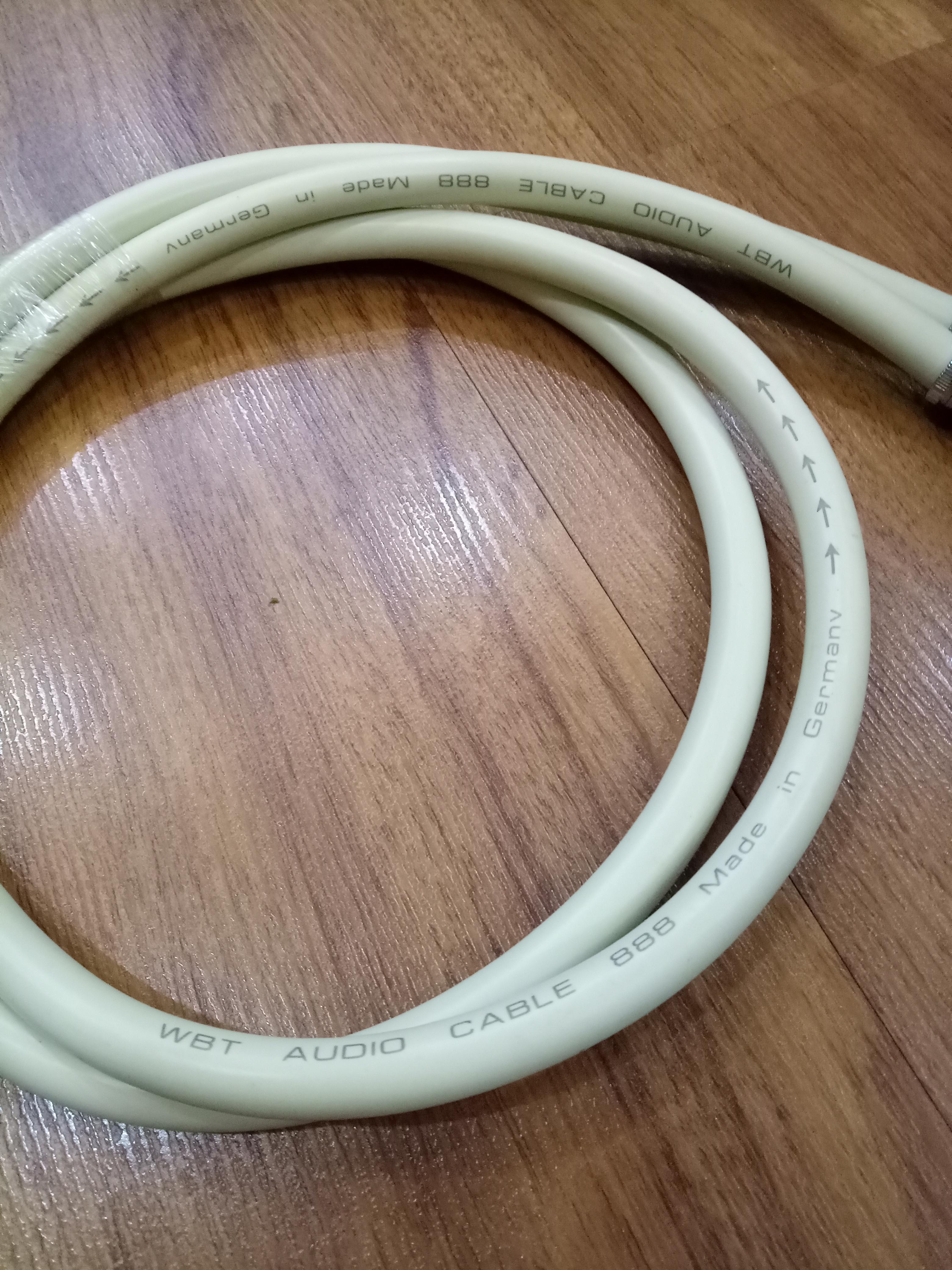 Bộ dây AV WBT  dài 1 mét