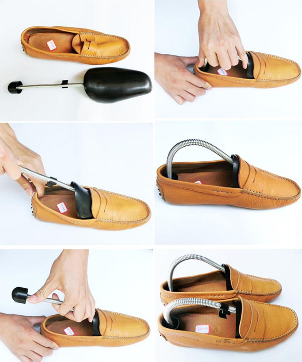 Bộ Đôi Cây Giữ Form Giày Nam Nữ Đầu Nhựa Cán Inox Cao Cấp Tiện Lợi _PK035